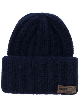DSQUARED2 Branded Knitted Beanie