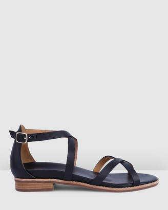 Bared Footwear - Women's Black Sandals - Loon Flat Sandals - Women's - Size One Size, 35 at The Iconic