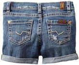 7 For All Mankind Baby-girls Infant Midroll Shorts