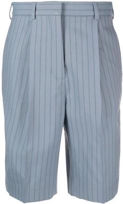 Acne Studios Pinstripe Tailored Shorts