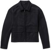 Jil Sander Stretch-Cotton Canvas Jacket