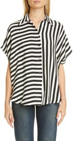 Stella McCartney Stripe Silk Shirt