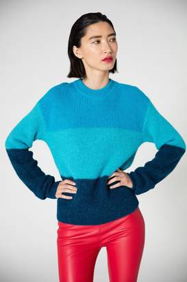 Veda Ranch Road Sweater Blue Stripes