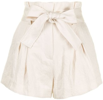 A.L.C. Joey paperbag waist shorts