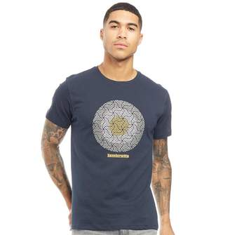 Lambretta Mens Crew Neck T-Shirt Navy
