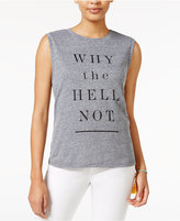 Rachel Roy Why Not Graphic Tank Top, Only at Macy's