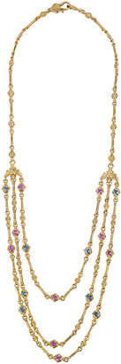 Konstantino 18k Yellow Gold Triple-Layer Necklace