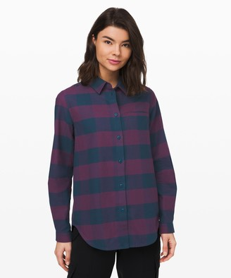 Lululemon Full Day Ahead Shirt *Flannel