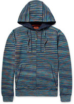 Missoni Slim-Fit Space-Dyed Knitted Cotton Zip-Up Hoodie