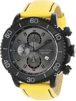 Nautica Men's N20063G NST 500 Yellow Polyurethane and Dial Watch
