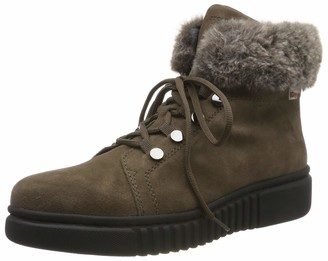 Stonefly Women's Dixie Hdry Velour/sint. Fur Snow Boots