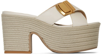 Jacquemus Off-White Les Sandales Tatanes Sandals