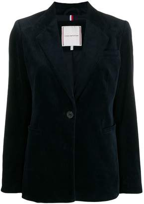 Tommy Hilfiger fitted corduroy blazer