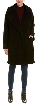 KENDALL + KYLIE Fuzzy Coat