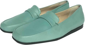 Unützer Blue Leather Flats