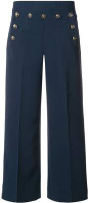 Tory Burch Cropped Sailor trousers