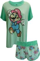 MJC Nintendo Super Mario Shortie Pajama for women