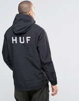 HUF Jacket With Reflective Back Print