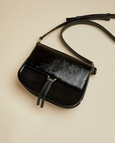 Ted Baker Leather And Suede Cross Body Bag