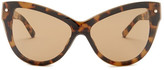 3.1 Phillip Lim Women's Extreme Cat Eye Sunglasses