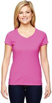 Champion Vapor Women`s V-Neck Cotton Tee, T050, M
