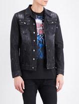 DSQUARED2 Sparkle wash denim jacket