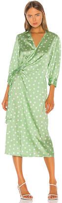 Aeryne Cowry Dot Dress