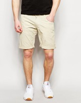 !solid Solid Chino Shorts