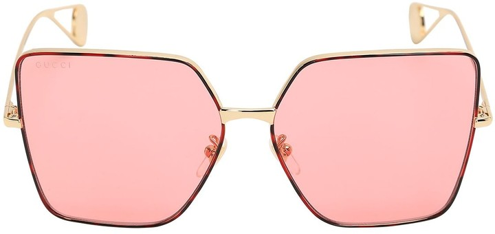 1f763196209ca Gucci Pink Eyewear For Women - ShopStyle UK