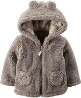 Carter's Sherpa Full-Zip Jacket - Baby Boys newborn-24m