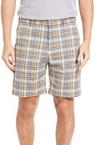 Bobby Jones Men's Plaid Tech Chino Shorts