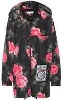 Maison Margiela Floral-printed hooded jacket