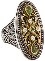 Konstantino Diamond & Peridot Ring