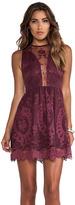 Lulu For Love & Lemons Lace Mini Dress
