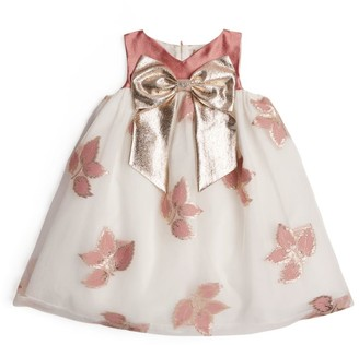 Hucklebones London Embellished Trapeze Dress (2-12 Years)