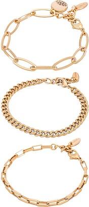 Ettika Chain Bracelet Set