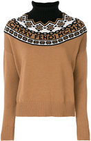 Fendi Wool Turtle-neck Sweater