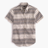 J.Crew Short-sleeve jacquard shirt
