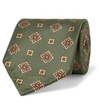 Rubinacci 6cm Printed Silk-Twill Tie