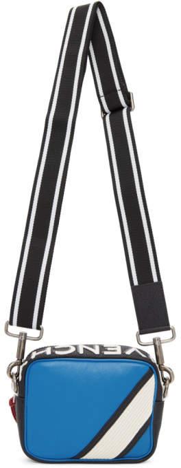 Givenchy Blue and White MC3 Crossbody Bag
