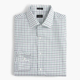 J.Crew Crosby shirt in green and blue tattersall