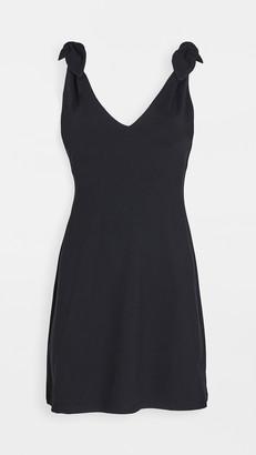 Susana Monaco Tie Shoulder A-Line Dress