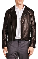 The Kooples Minimalist Leather Moto Jacket