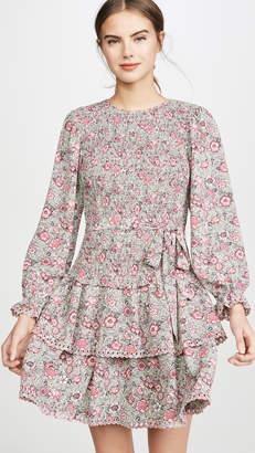 Rebecca Taylor Long Sleeve Camilla Floral Dress