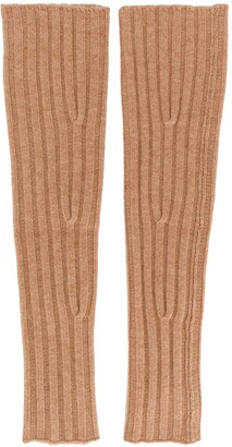 Cashmere In Love Aspen knitted sleeve warmers