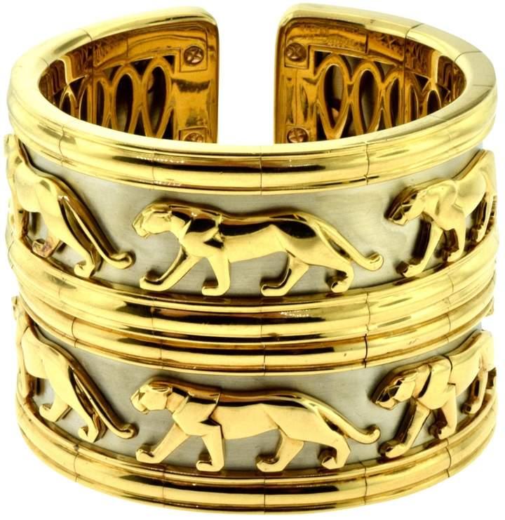 Cartier Panthère yellow gold bracelet