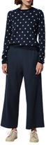 Toast Soft Wool Workwear Trousers, Dark Navy