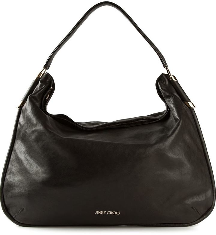 Jimmy Choo large 'Zoe' hobo shoulder bag