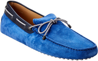 Tod's Gommino Suede & Leather Loafer