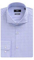 Hugo Boss Mark US Sharp Fit, Cotton Dress Shirt 15.5/R Blue